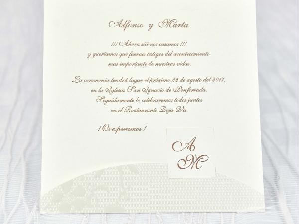Invitatie nunta cod 39102