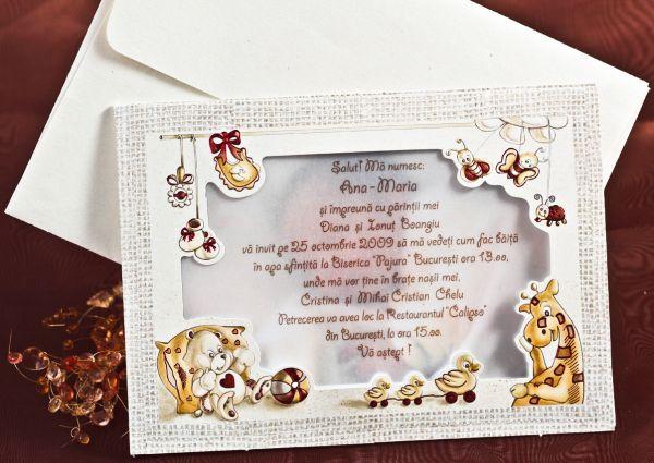 Invitatie botez cod 15114