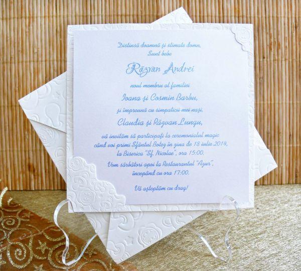 Invitatie botez cod 15302