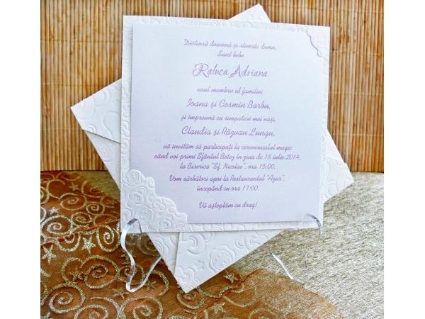 Invitatie botez cod 15303