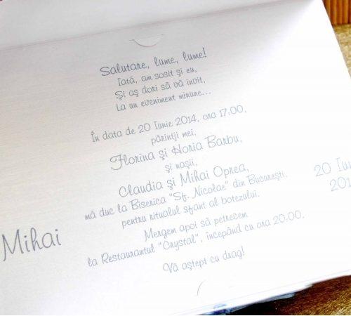 Invitatie botez cod 15309