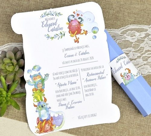 Invitatie botez cod 15604