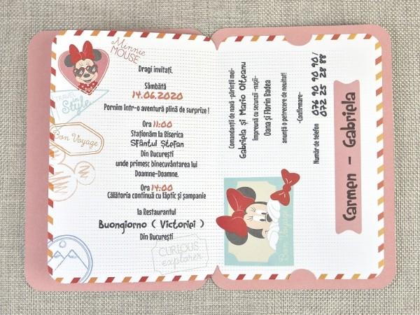 Invitatie botez cod 15706