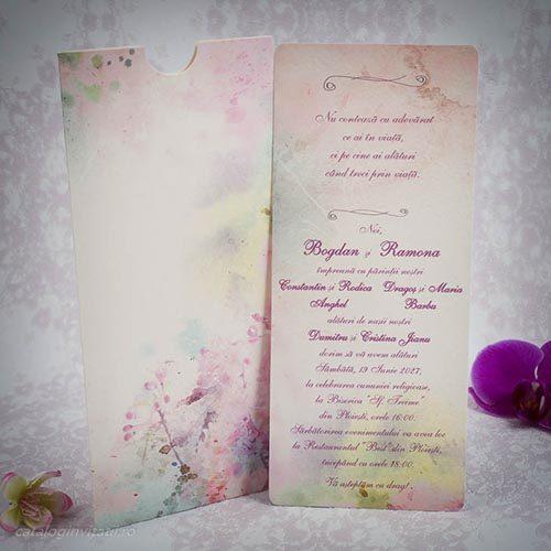 Invitatie nunta cod 20184