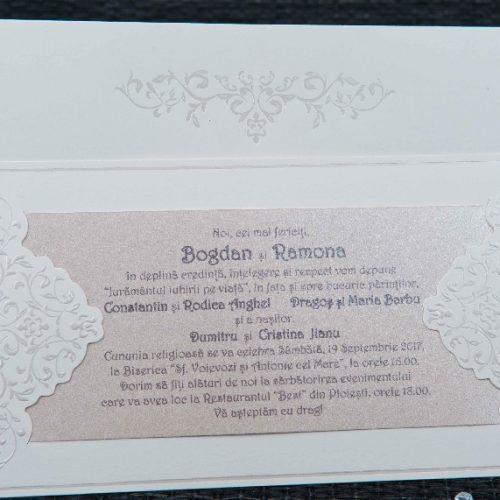 Invitatie nunta cod 20420
