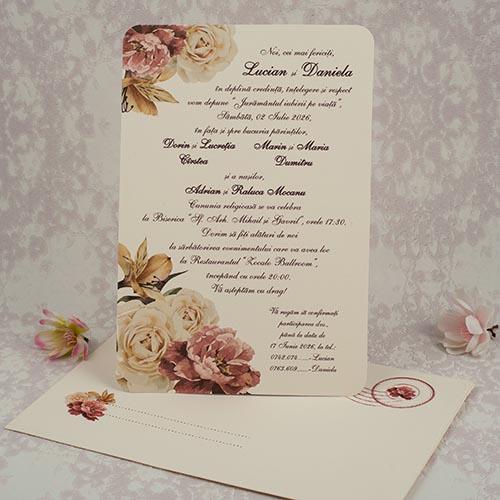 Invitatie nunta cod 2182