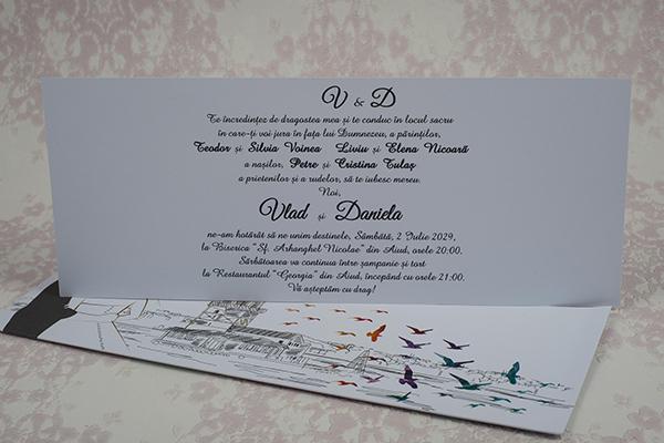 Invitatie nunta cod 2186