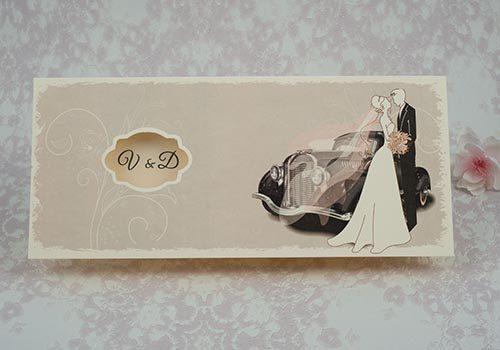 Invitatie nunta cod 2187