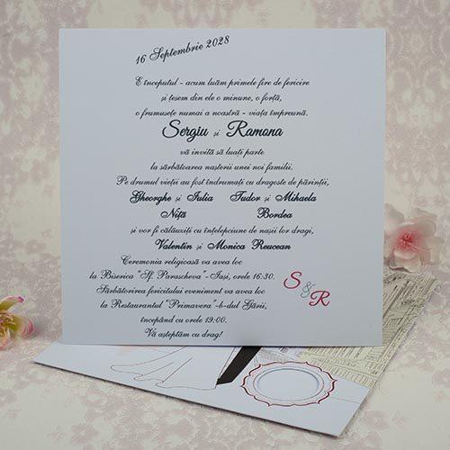 Invitatie nunta cod 2189