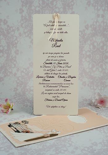 Invitatie nunta cod 2190