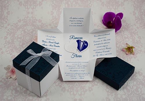 Invitatie nunta cod 2191