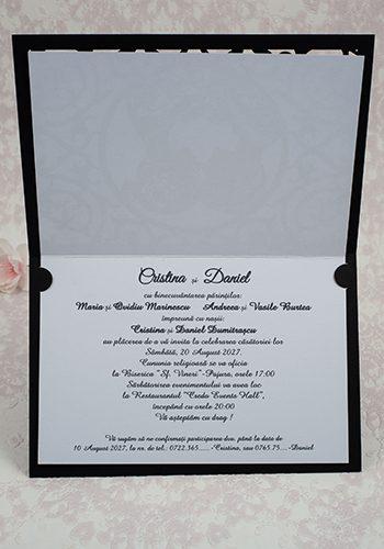 Invitatie nunta cod 2194