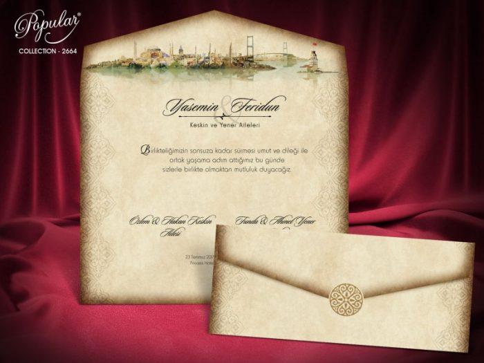 Invitatie nunta cod 2664