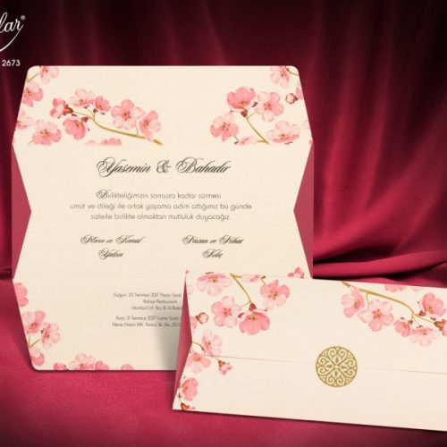 Invitatie nunta cod 2673