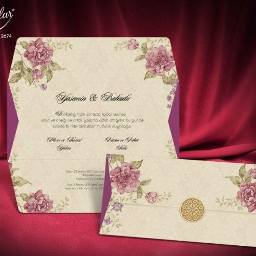 Invitatie nunta cod 2674