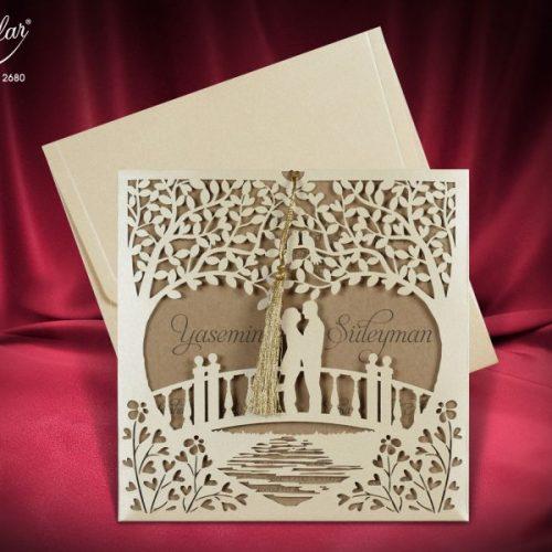Invitatie nunta cod 2680