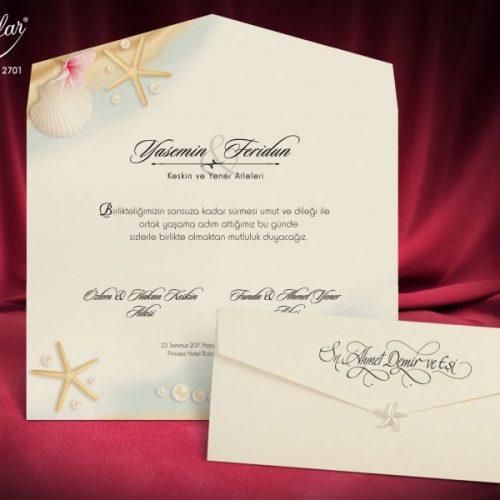 Invitatie nunta cod 2701