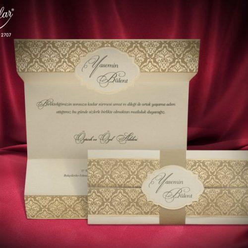 Invitatie nunta cod 2707