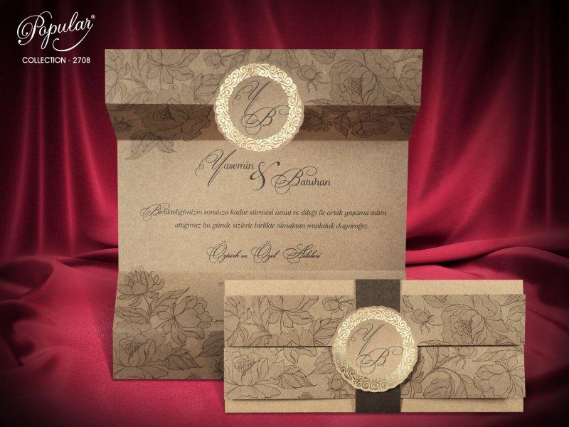 Invitatie nunta cod 2708