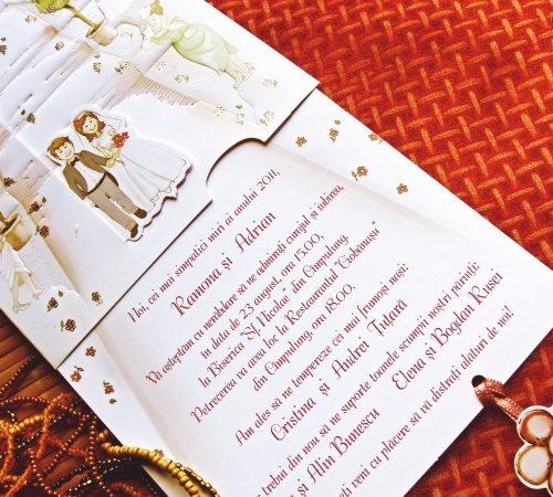 Invitatie nunta cod 31301