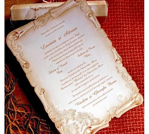 Invitatie nunta cod 31328
