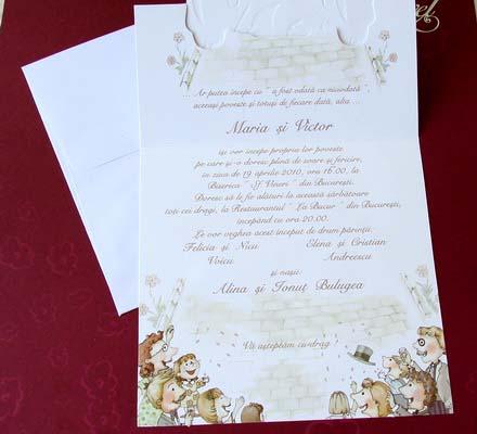 Invitatie nunta cod 31509