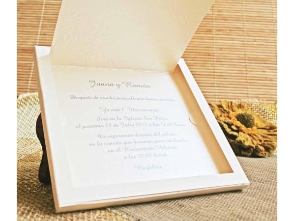 Invitatie nunta cod 32403