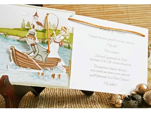 Invitatie nunta cod 32405