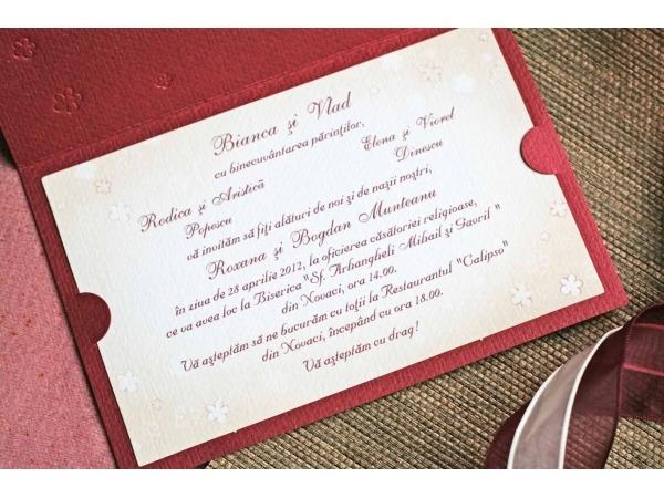 Invitatie nunta cod 32409