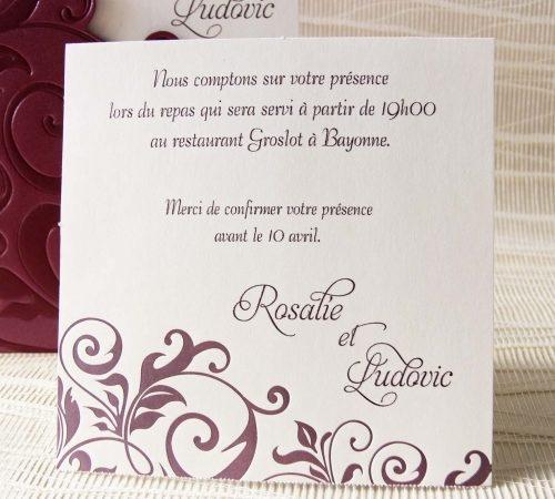 Invitatie nunta cod 32805