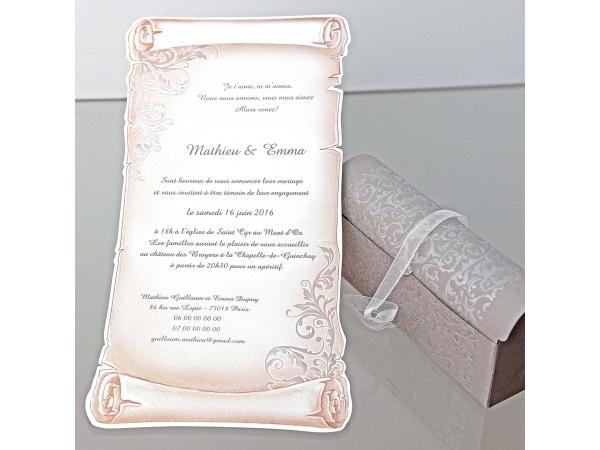 Invitatie nunta cod 34909