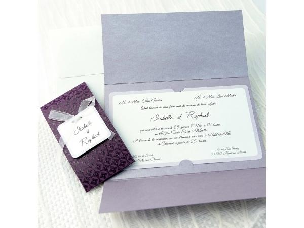 Invitatie nunta cod 34930