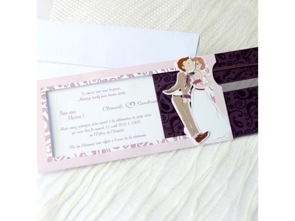 Invitatie nunta cod 34932