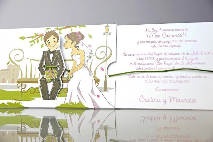 Invitatie nunta cod 34937