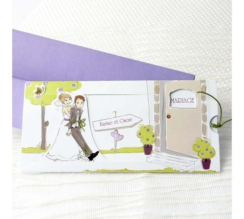 Invitatie nunta cod 34947
