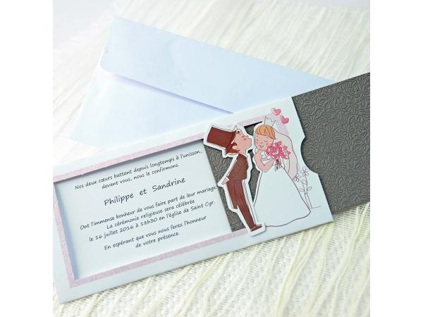 Invitatie nunta cod 34948