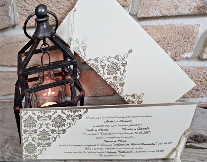 Invitatie nunta cod 3678