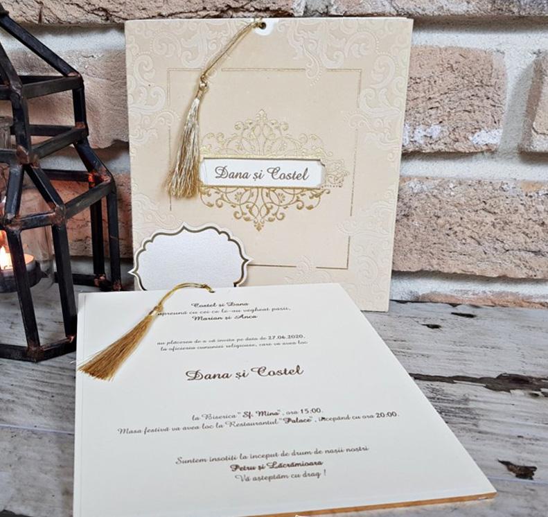 Invitatie nunta cod 3706