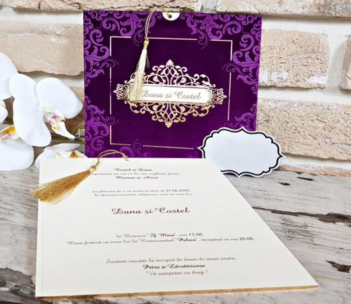 Invitatie nunta cod 3707