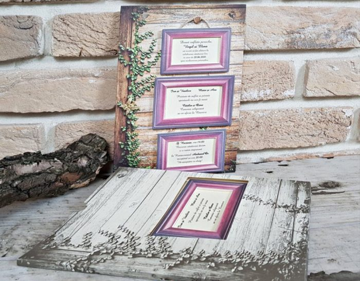 Invitatie nunta cod 3713