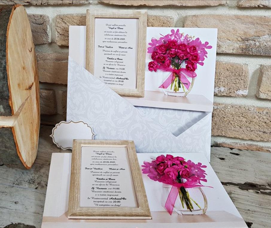 Invitatie nunta cod 3714