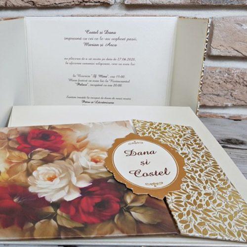 Invitatie nunta cod 3717