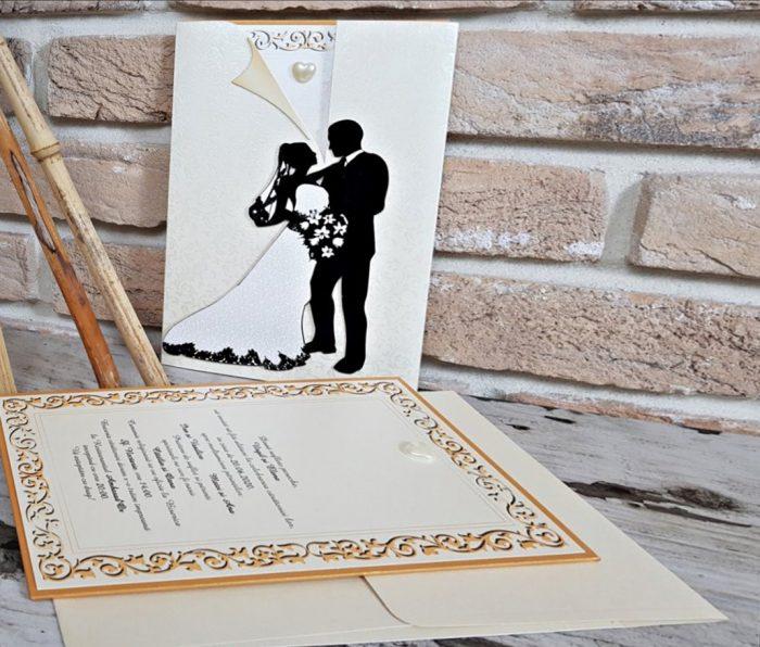 Invitatie nunta cod 3719
