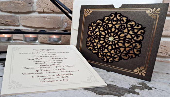 Invitatie nunta cod 3721