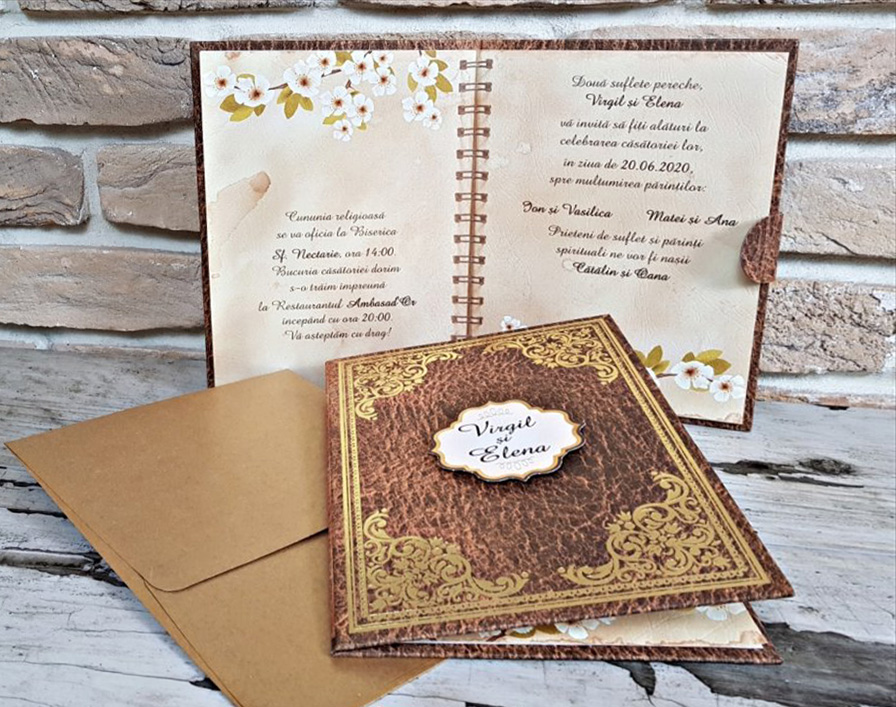 Invitatie nunta cod 3724