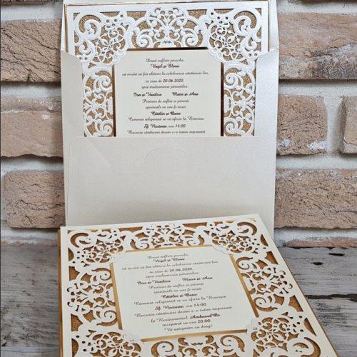 Invitatie nunta cod 3727