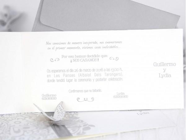 Invitatie nunta cod 39222