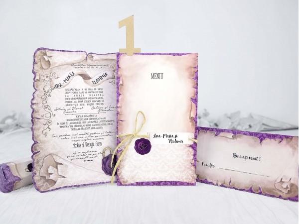 Invitatie nunta cod 39215