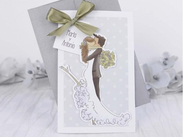 Invitatie nunta cod 39217