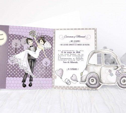 Invitatie nunta cod 39218